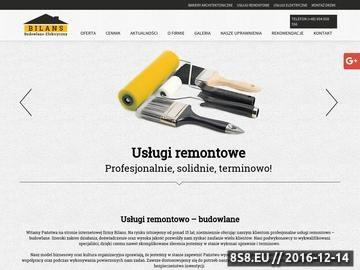 Zrzut strony Kompleksowe remonty budowlane - FHU Bilans.