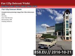 Miniaturka www.fiat125p.strefa.pl (Opolski Fiat 125p)