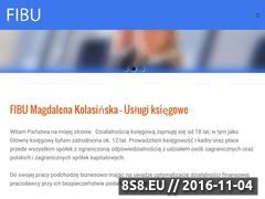 Miniaturka www.fibu.com.pl (Kadry i płace Gorzów)