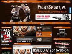 Miniaturka domeny www.fightsport.pl