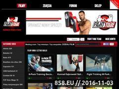 Miniaturka Strona Miłośników MMA i Sztuk Walki (www.fighttube.pl)