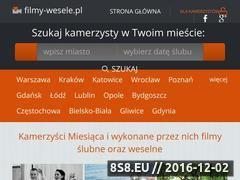 Miniaturka domeny www.filmy-wesele.pl