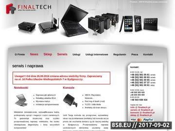 Zrzut strony Serwis laptopów