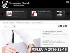 Miniaturka www.finansow-swiat.pl (Finansow-swiat.pl - ekonomia)