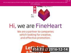 Miniaturka domeny www.fineheart.pl