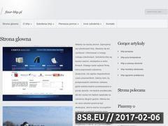 Miniaturka domeny www.finer-bhp.pl