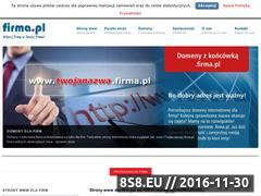 Miniaturka domeny www.firma.pl