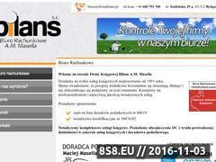 Miniaturka domeny www.firmabilans.pl