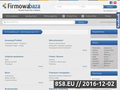Miniaturka domeny www.firmowabaza.pl