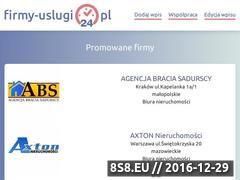 Miniaturka domeny www.firmy-uslugi24.pl