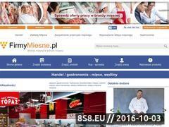 Miniaturka domeny www.firmymiesne.pl