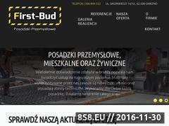 Miniaturka domeny first-bud.com