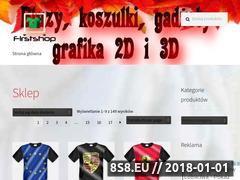Miniaturka www.firstshop.pl (Bluzy, koszulki, gadżety z nadrukami 2D i 3D)