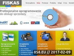 Miniaturka domeny www.fiskasline.pl