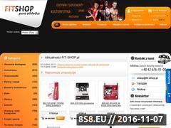 Miniaturka domeny www.fit-shop.pl
