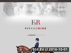 Miniaturka fitandride.com (Profesjonalne pasowanie siodeł jeździeckich)