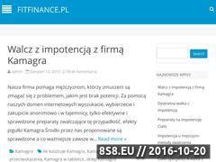 Miniaturka domeny www.fitfinance.pl