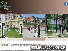 Miniaturka domeny www.fitpark.pl