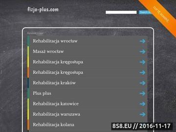 Zrzut strony Fizjoterapia Wrocław