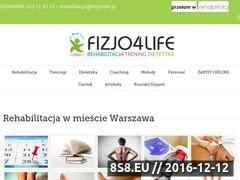 Miniaturka domeny fizjo4life.pl
