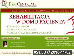 Miniaturka domeny www.fizjocentrum.pl