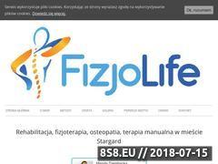 Miniaturka fizjolife.eu (Rehabilitacja i fizjoterapia)