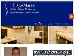 Miniaturka fizjomasaz.com.pl (FIZJO-MASAŻ masaż klasyczny Warszawa Ursynów)