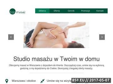 Zrzut strony Masaż Warszawa