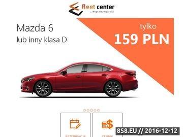 Zrzut strony Wypożyczalnia samochodów Warszawa