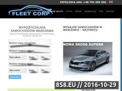 Miniaturka fleetcorp.pl (Fleetcorp - wynajem samochodów)