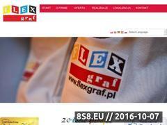 Miniaturka domeny www.flexgraf.pl