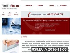 Miniaturka domeny www.flexiblefinance.pl