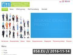 Miniaturka Praca tymczasowa, praca stała - agencja pracy (www.flexteam.pl)
