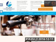 Miniaturka domeny flintespresso.eu