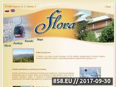 Miniaturka flora-krynica.pl (Krynica Zdrój - noclegi)