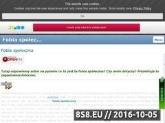 Miniaturka domeny fobiaspoleczna.jimdo.com