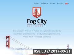 Miniaturka fogcity.com.pl (Tworzenie aplikacji Android)