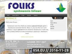 Miniaturka domeny www.foliks.pl