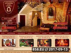 Miniaturka www.folwarkstarawiniarnia.pl (Hotel w Mszanie Dolnej)