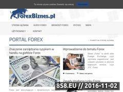 Miniaturka forexbiznes.pl (Handel - waluty)