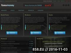 Miniaturka www.forexmoney.pl (Vademecum inwestora rynku walutowego)