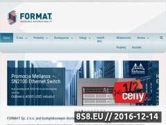 Miniaturka domeny format.com.pl