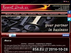 Miniaturka domeny formatdruk.eu
