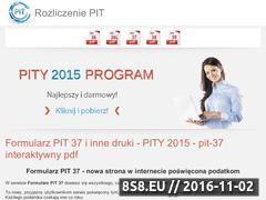 Miniaturka Serwis poświęcony rozliczeniom formularzy PIT 37 (formularzpit37.pl)