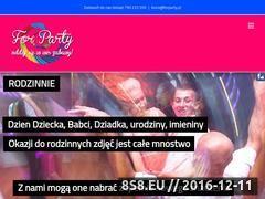 Miniaturka domeny forparty.pl