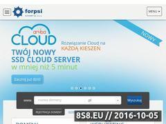 Miniaturka domeny www.forpsi.pl
