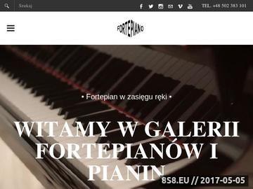 Zrzut strony Fortepiano