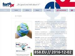 Miniaturka domeny www.fortepr.pl