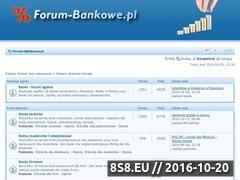 Miniaturka www.forum-bankowe.pl (Banki - konta bankowe, lokaty i kredyty)