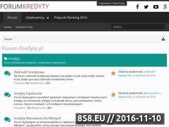 Miniaturka domeny www.forum-kredyty.pl